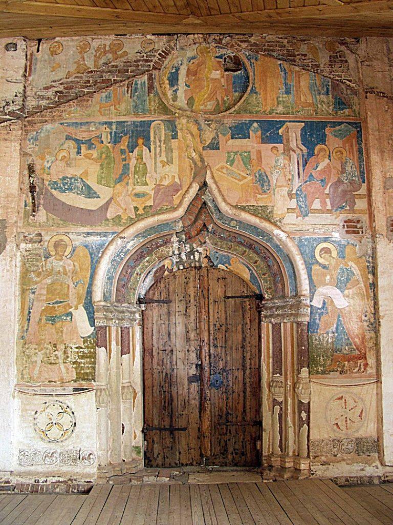 Портал собора Рождества Богородицы. Постройка 1490. Роспись 1502