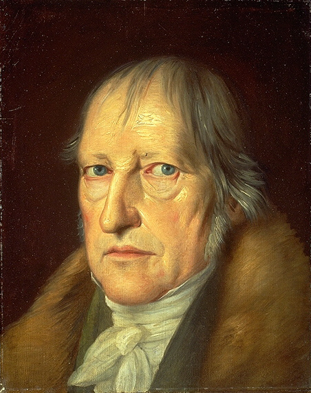 Портрет Георга Вильгельма Фридриха Гегеля (1770-1831). 1831