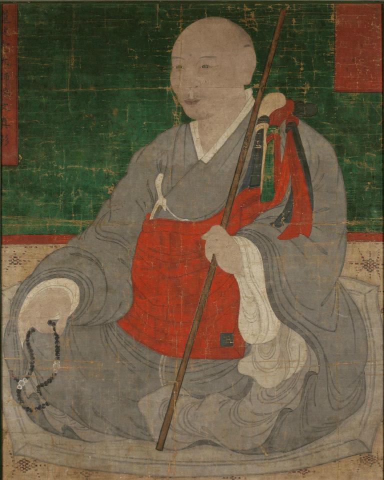 Портрет буддийского монаха. XVIII–XIX вв.