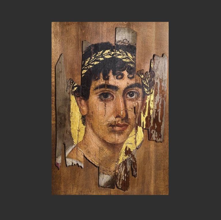 Портрет молодого человека. Первая половина II в.