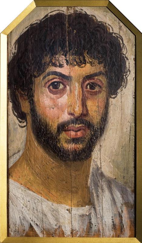 Портрет мужчины средних лет. Середина II в.