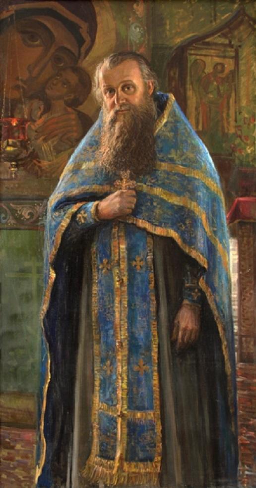 Портрет о. Анатолия Яковина