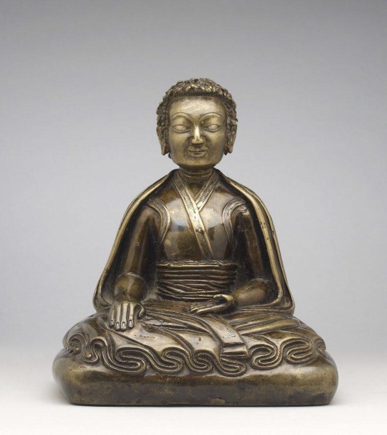 Портрет просветленного учителя. Тибет, XIII в.