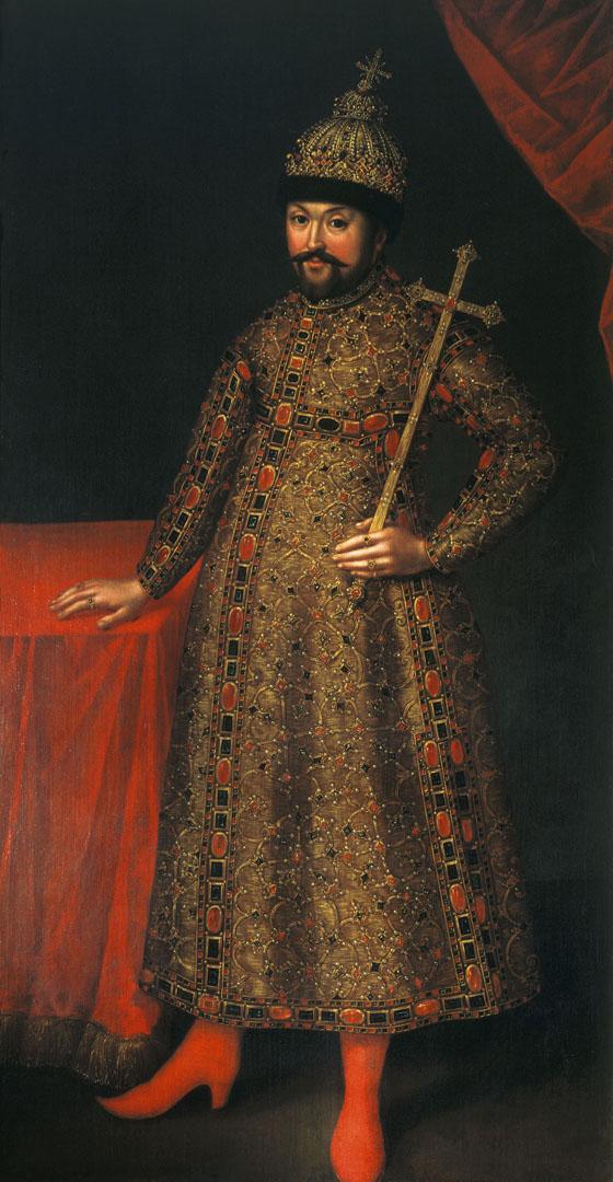 Портрет царя Михаила Федоровича