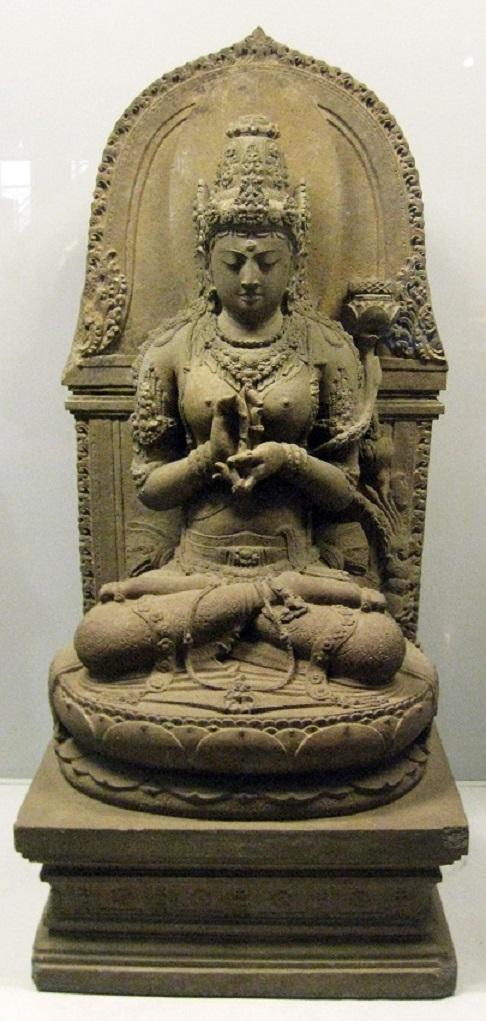 Праджняпарамита – бодхисаттва, являющаяся воплощением совершенной мудрости. XIII в.