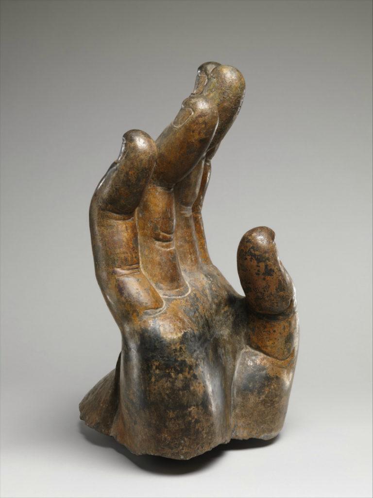 Правая рука Будды. Китай, VI в.