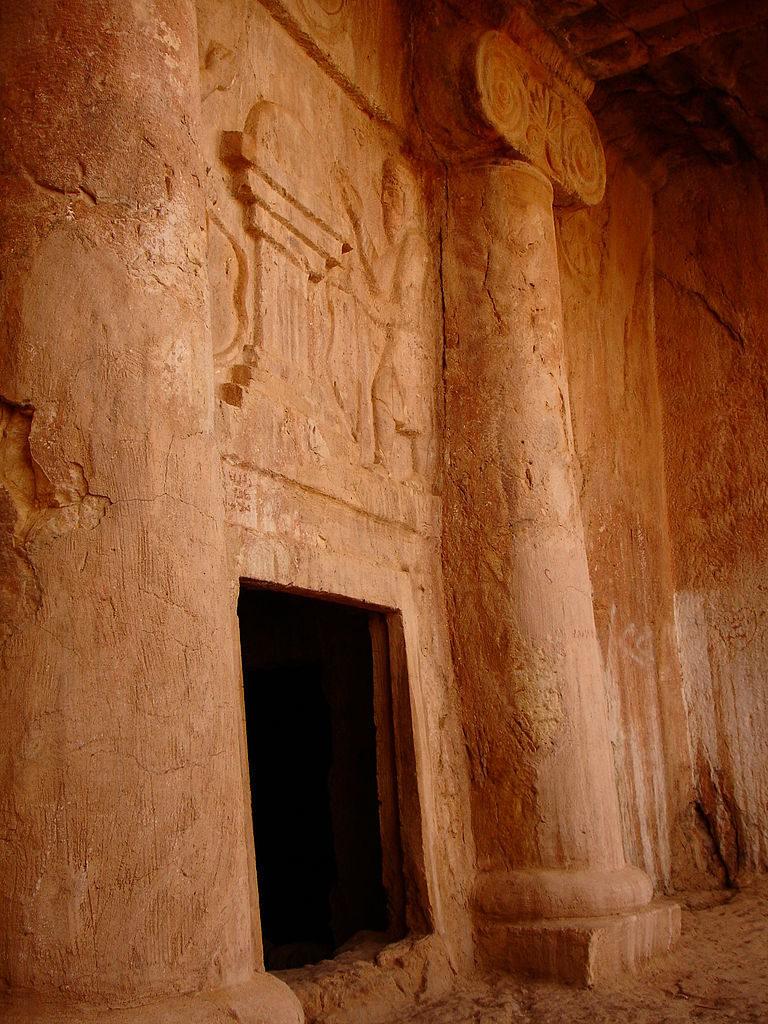 Предполагаемая гробница мидийского царя Киаксара (625-585)