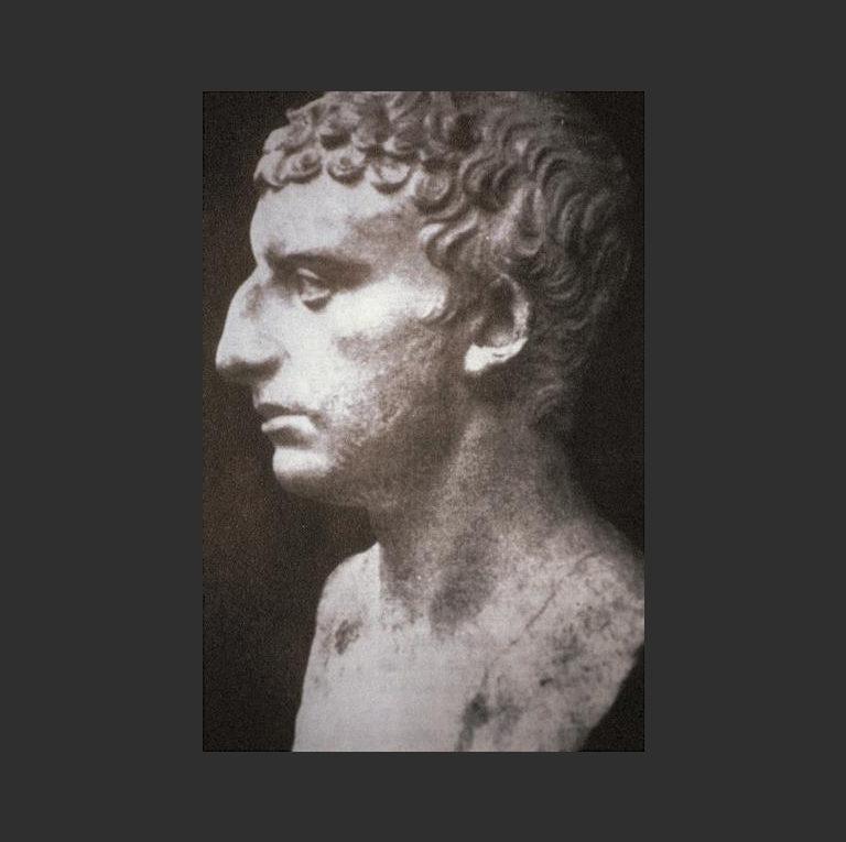Предполагаемый скульптурный портрет Иосифа Флавия (ок. 37 г. — ок. 100 н.э. )