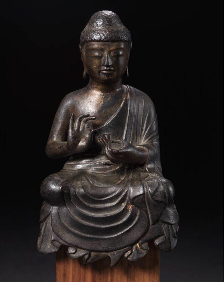 Проповедь Будды. VIII в. Япония