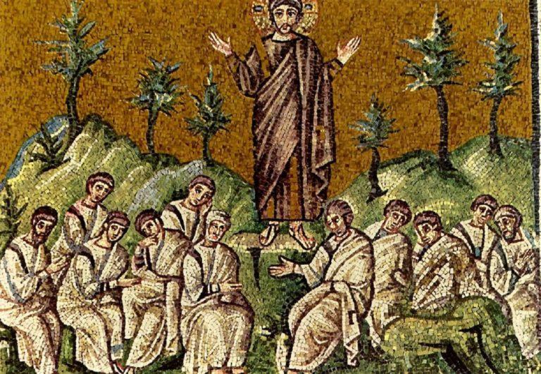 Проповедь Христа апостолам