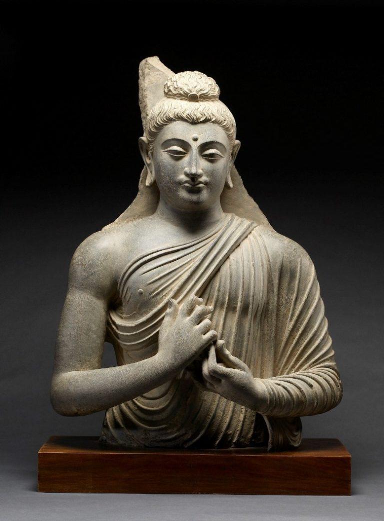 Проповедующий Будда. Гандхара, III в.