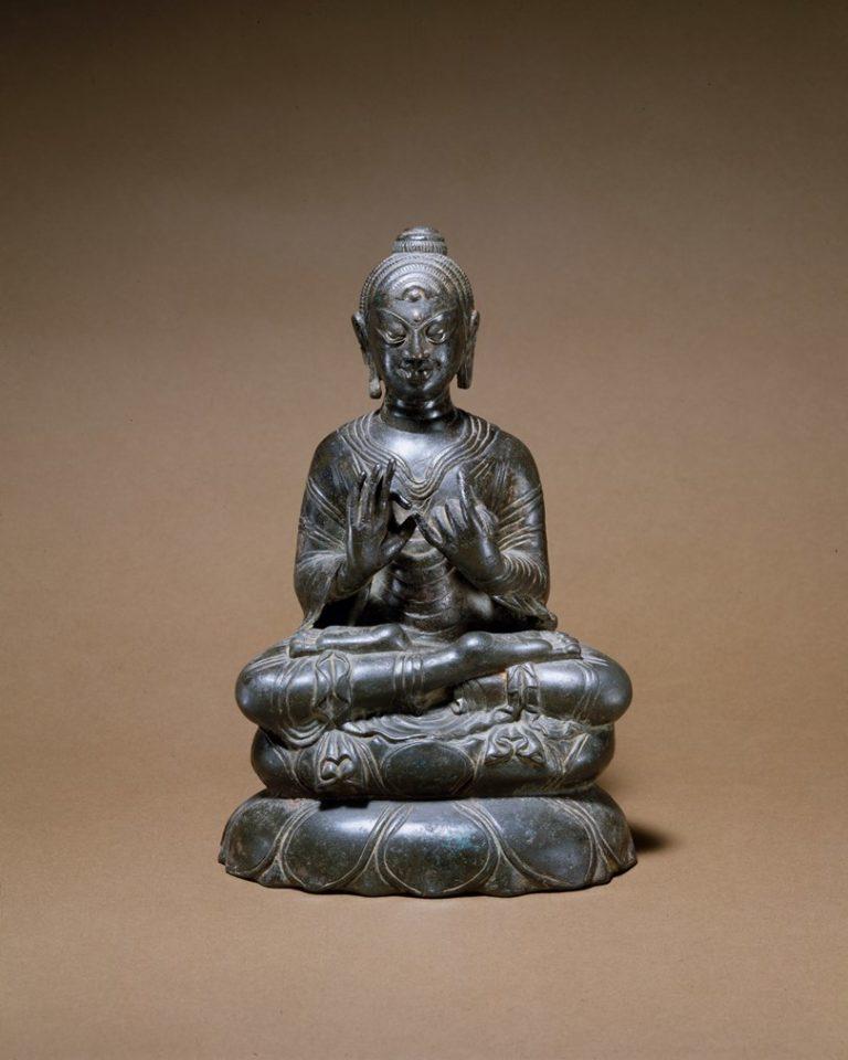 Проповедующий Будда. Индия, VIII в.