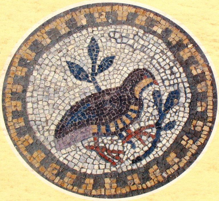 Птица – символ души. VI в.