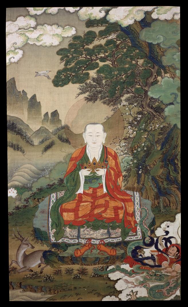 Рахула. Тибет, XVI в.
