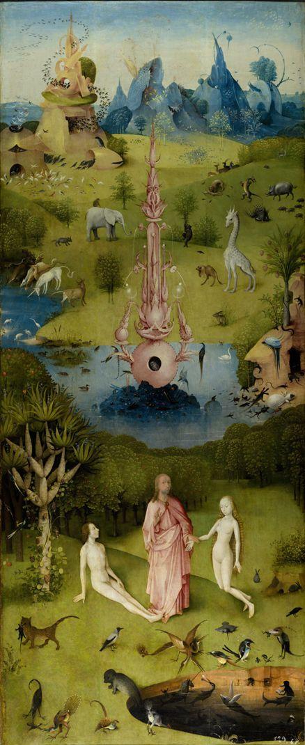 Рай. Часть триптиха «Сад земных наслаждений». 1500—1510