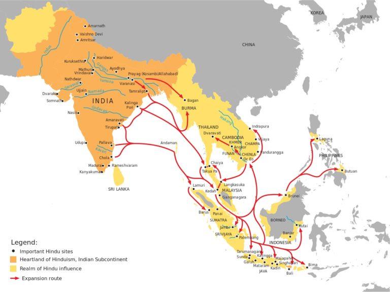 Распространение буддизма в Юго-Восточной Азии