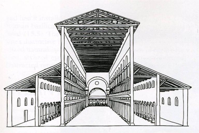 Реконструкция базилики св. Петра. IV в.