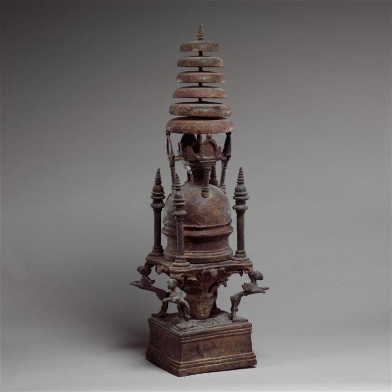 Реликварий в форме ступы. Пакистан, IV–V вв.