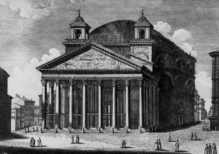 Римский Пантеон. XVIII в.