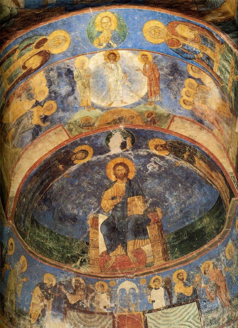 Роспись алтаря. XII в.
