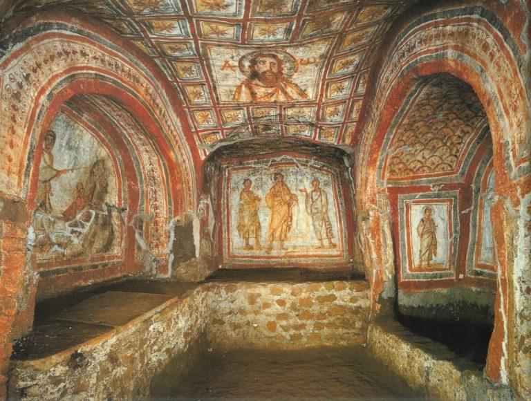 Роспись кубикулы Леона. IV в.