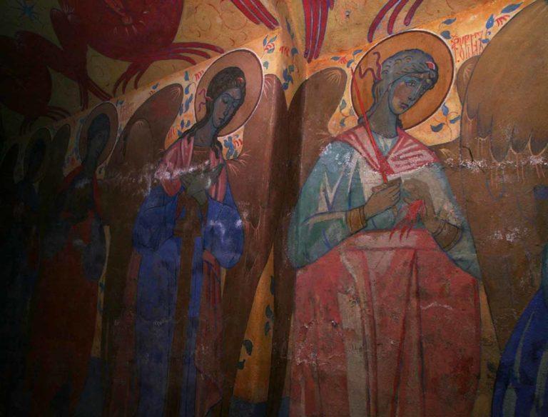 Роспись усыпальницы Марфо-Мариинской обители