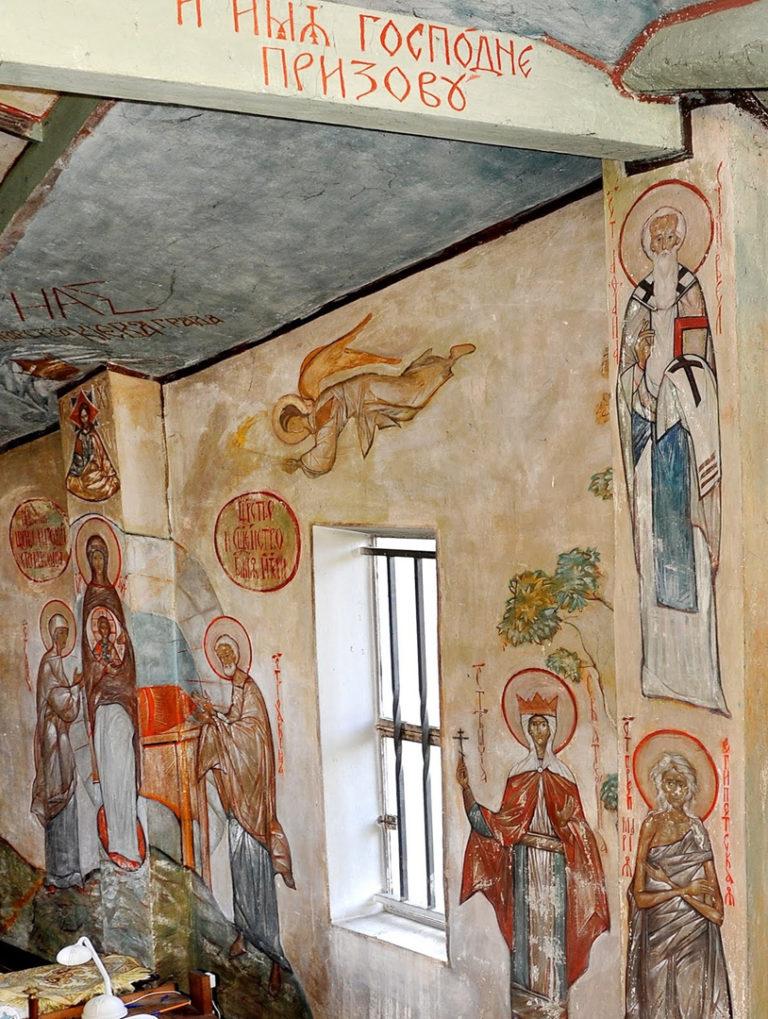 Росписи Казанского скита в Муазне под Парижем