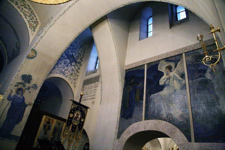 Росписи Покровского собора Марфо-Мариинской обители. 1910-е