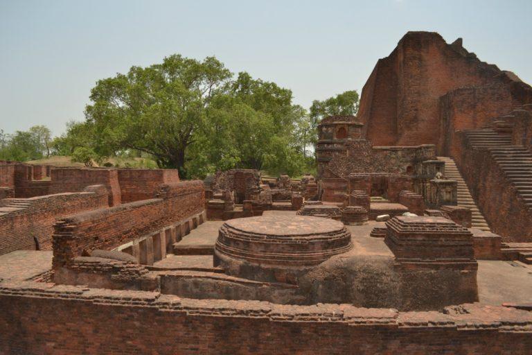 Руины Наланды. V-XII вв. Бихар