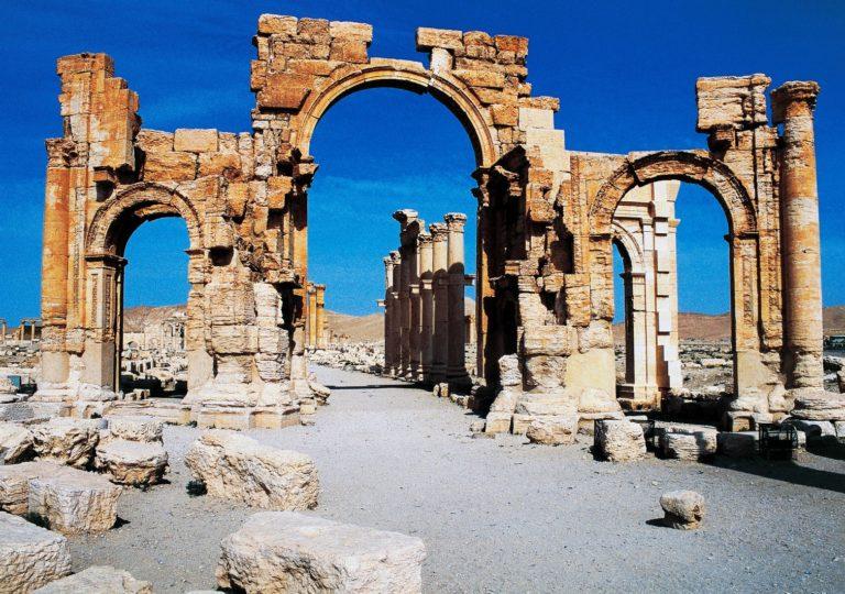 Руины древней Пальмиры. Сирия