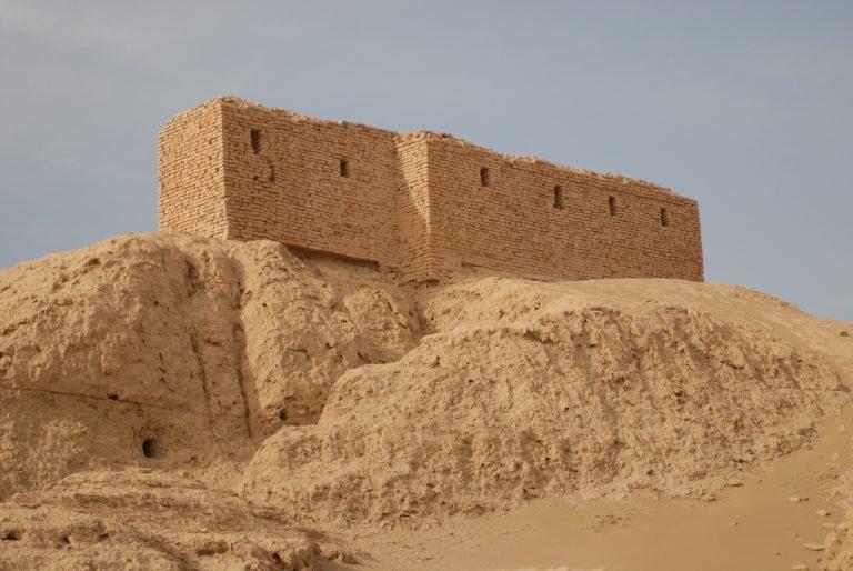 Руины храма бога Энлиля в Ниппуре
