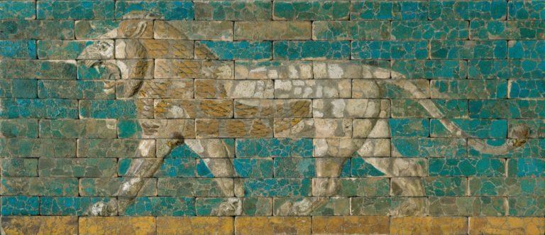 Шагающий лев. 604-562 гг. до н.э.
