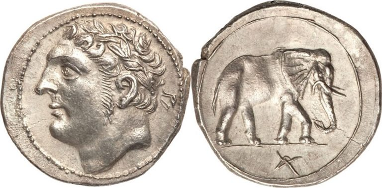 Шекель Ганнибала Барки (247 до н. э. — 183 до н. э.)