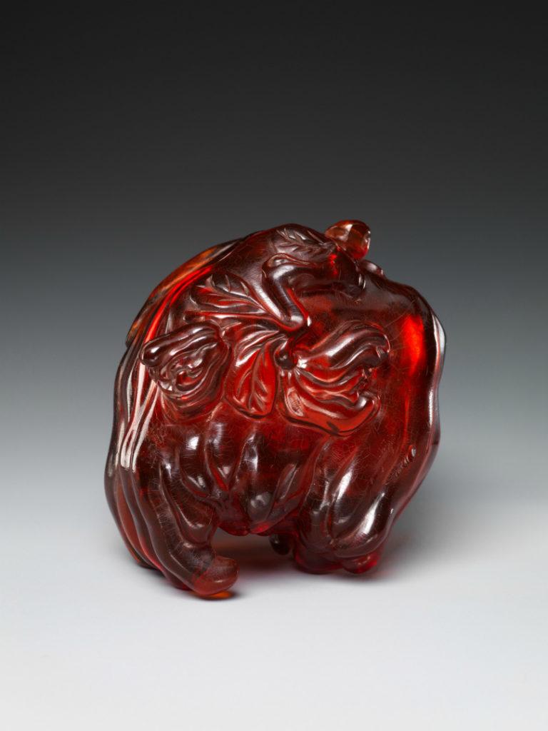 Шкатулка в форме руки Будды. Китай, XIX в.