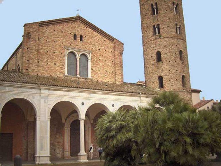 Базилика Сант-Аполлинаре-Нуово. Рубеж V – VI вв. Равенна
