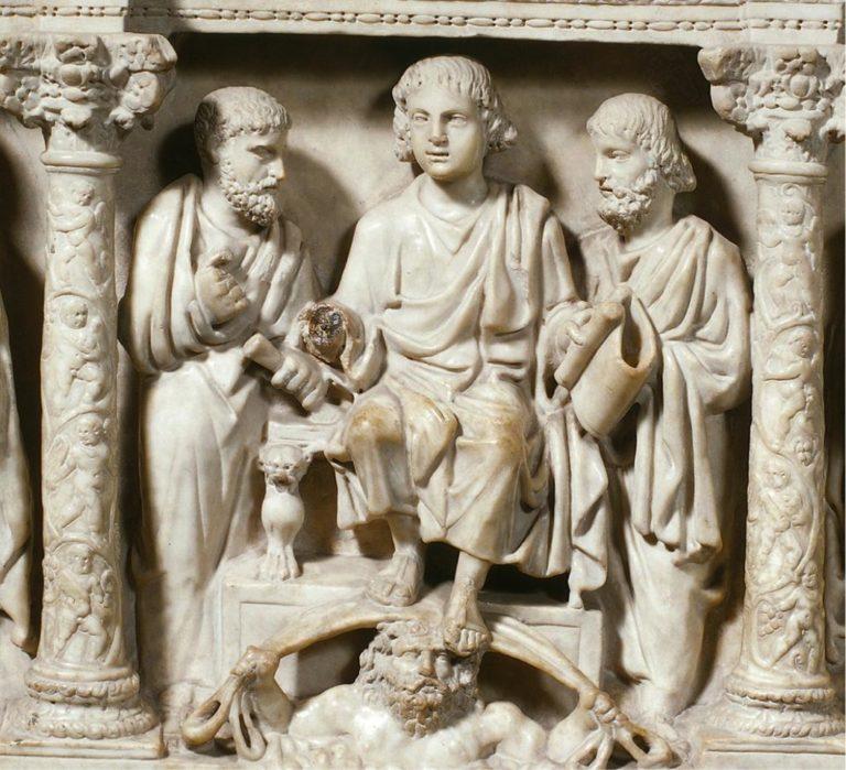 Саркофаг Юния Басса. 359 г.