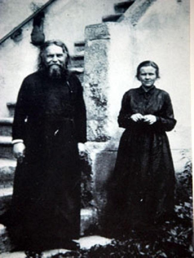 О. Сергий Булгаков (1871 – 1944) и сестра Иоанна (Рейтлингер; 1898 – 1988)