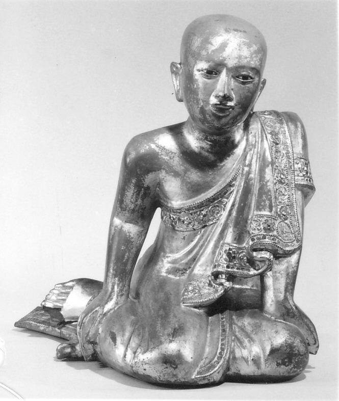 Сидящий Ананда. Бирма, XVIII в.