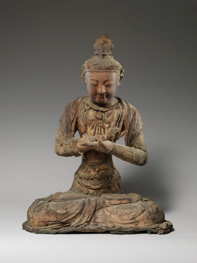 Сидящий бодхисаттва. Китай, XIV–XVII вв.