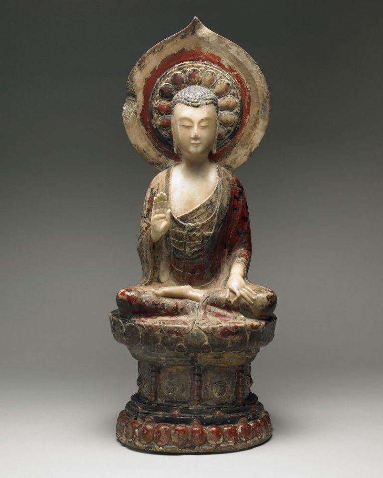 Сидящий Будда Шакьямуни. Китай, VI в.