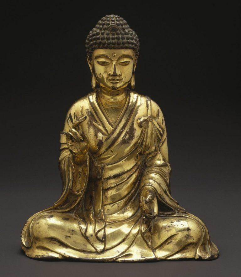 Сидящий Будда. Китай, 965–1025 гг.