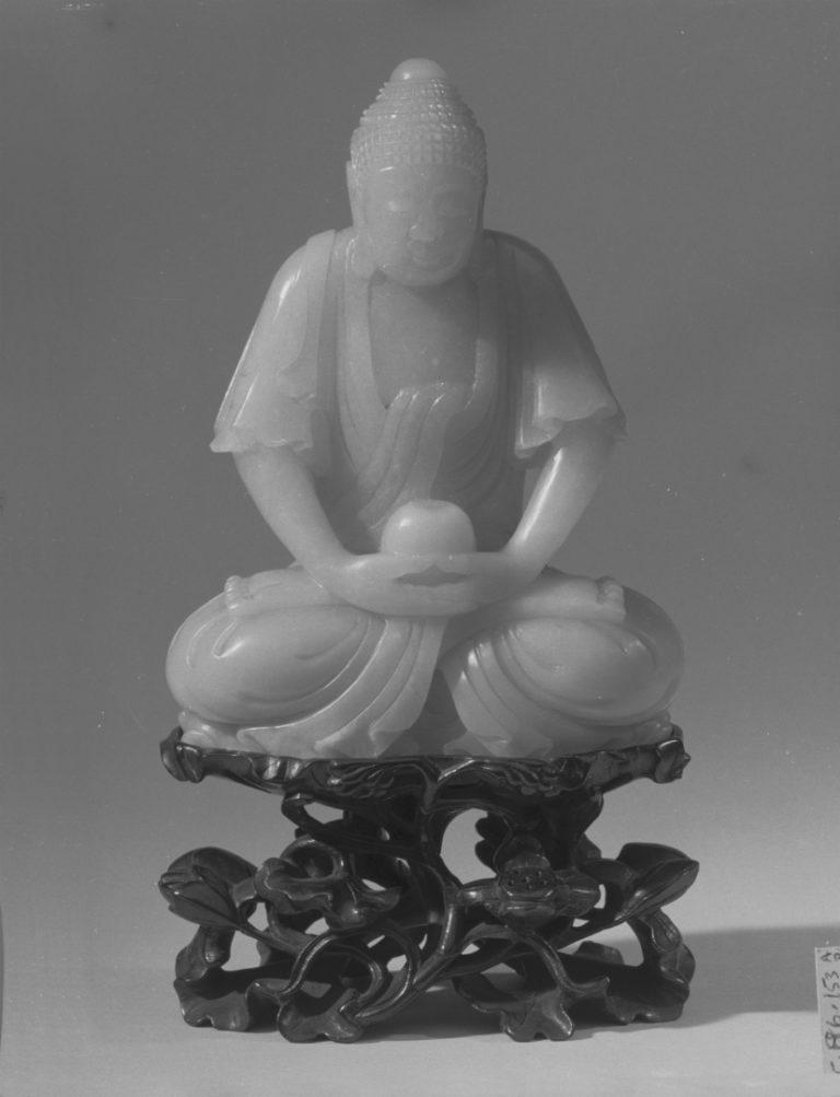 Сидящий Будда. Китай, XVIII в.