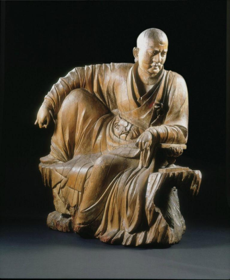 Сидящий буддийский монах. Китай, XIV в.