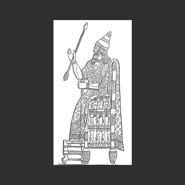 Синаххериб (уточненная транскрипция- Син-аххе-эриба).