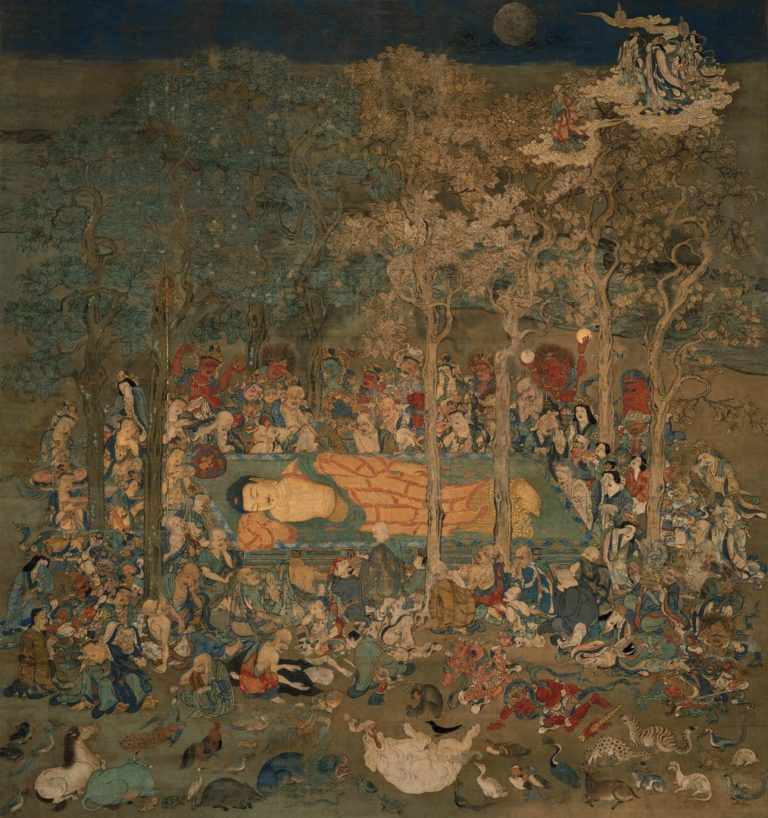 Смерть Будды. XIV в.