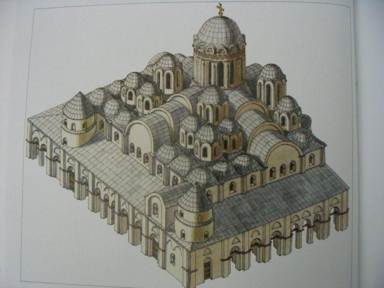 София Киевская. Реконструкции изначальной формы храма