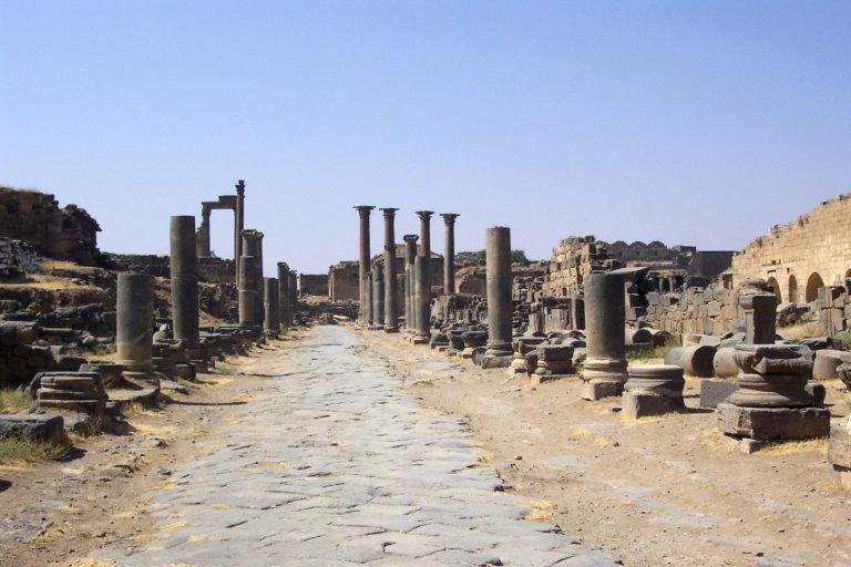 Старый город в Босре, Сирия