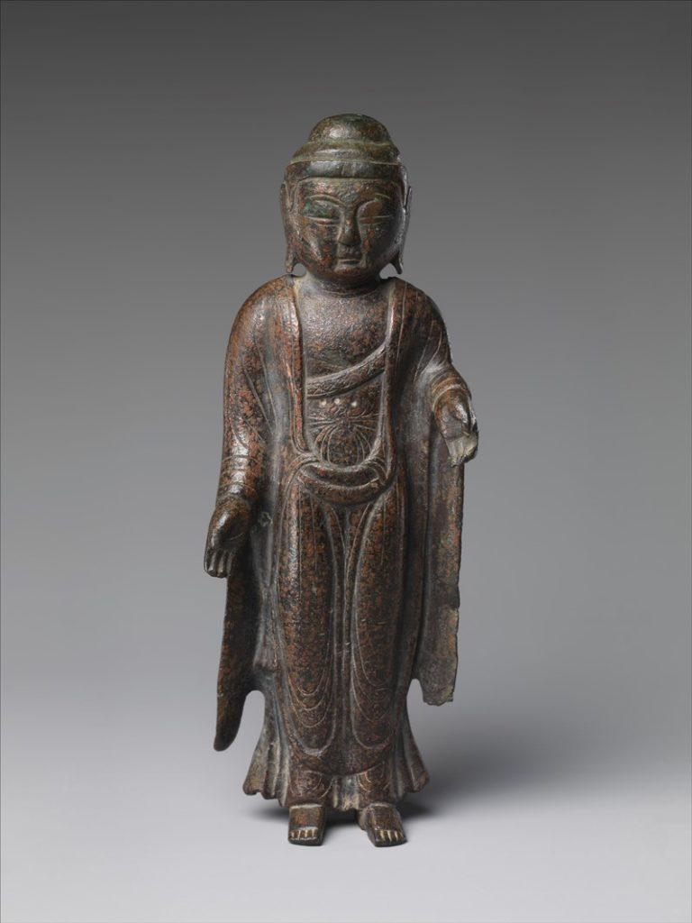 Стоящий Будда. Корея, IX в.