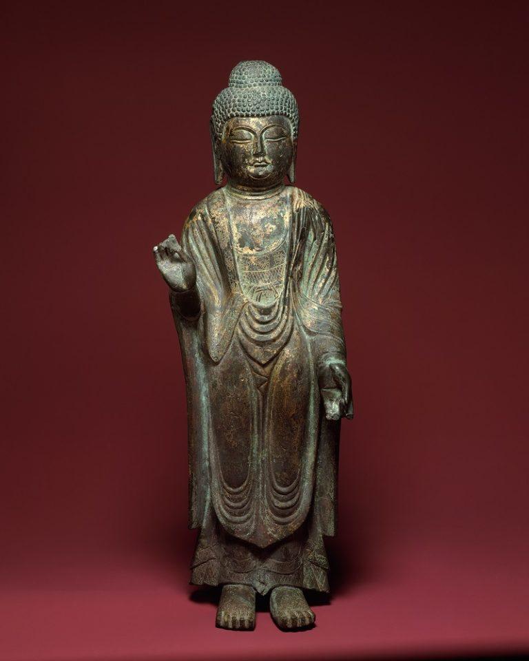 Стоящий Будда. Корея, X–XIV вв.