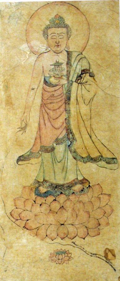 Стоящий Будда. Китай, XIX в.